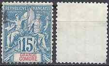 COLONIE GRANDE COMORE N°6 - OBLITÉRATION CACHET A DATE - COTE 16€