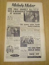 MELODY MAKER 1953 JUNE 6 NAT KING COLE JACK PARNELL AMBROSE DICKIE VALENTINE