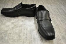 **Kenneth Cole Magic News Leather Dress Shoes, Big Boy's Size 4.5M, Black
