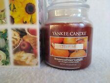 Spiced Pumpkin Yankee Candle Housewarmer 14.5oz. W/ Box Strong Scented *Vintage*