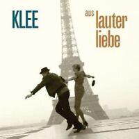 """KLEE """"AUS LAUTER LIEBE"""" CD NEU"""