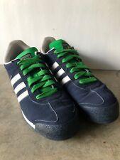 Adidas Original Samoa Men Retro Shoes Navy/Grn/Gold/Whte Sneakers Size 10 D74377