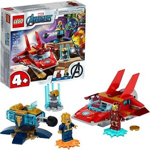 LEGO Marvel Avengers Iron Man vs. Thanos 76170 Building Kit 103pcs Mar.1,21 New