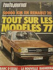L'AUTO JOURNAL 1976 16 R20 GTL MATRA BAGHEERA S GP ALLEMAGNE AUTRICHE HOLLANDE