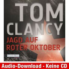 Hörbuch Download MP 3 Jagd auf roter Oktober Tom Clancy 9783837110609