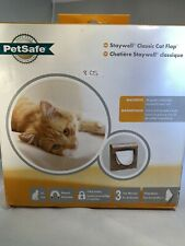 PetSafe Staywell Brown Magnetic Cat Flap Door Inc Two keys - 4 way locking