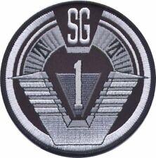 """STARGATE SG1 Logo 3 7/8"""" Diameter Embroidered Uniform Shoulder PATCH"""