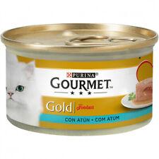 PATES PARA GATOS PURINA® GOURMET® Gold Fondant con Atún 85g PATE SNACK DE GATO