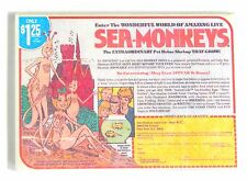 Sea Monkeys FRIDGE MAGNET (2 x 3 inches) advertisement comic book sign ad