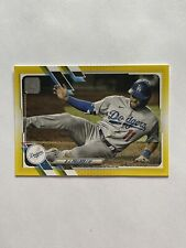2021 Topps Series 1 A.J. Pollock Dodgers Walgreens Yellow Parallel Card #235