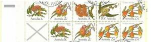1982 Eucalyptus  $1.00  Booklet See photos CTO Used Both sides Shown