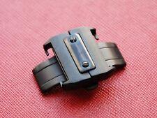 21mm PVD Nero 316L Inossidabile Distribuzione Fibbia Fibbia per Orologio Cartier Santos