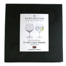 Dartington Crystal Bar Excellence Gin Copa Glasses (Pair) NEW