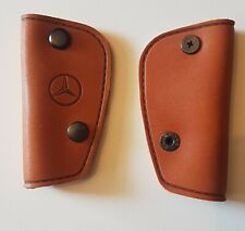 For Mercedes Classic Key Cover GENUINE Leather 108 890 06 61TAN COLOR