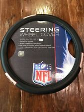 New York Giants Steering Wheel Cover NFL Football Team Logo Faux Leather Grip