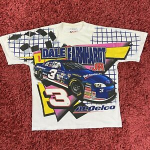 Vintage Dale Earnhardt Next Generation AC Delco Full Double Sided T Shirt Medium