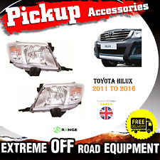 Toyota Hilux 2011-2015 Kun Faro luz LED Proyector UTE frontal V6 M51M52