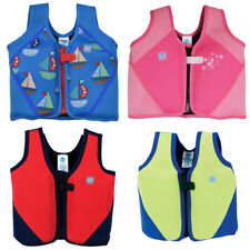 Splash About Kids Neoprene Float Jacket Adjustable Buoyancy 1-3 3-6 yrs 6-14yrs