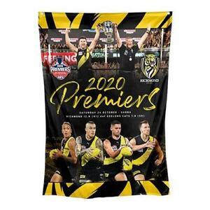Richmond Tigers Premiers Cup 2020 Wall Flag