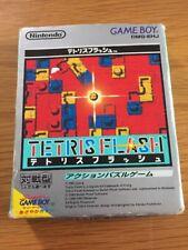GAMEBOY TETRIS FLASH BOXED INSTRUCTIONS JAPANESE IMPORT
