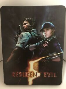 Resident Evil 5 Custom-Made Steelbook Case (NO GAME)