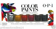 "OPI Colors Paints Collection 2015 Mini Kit  6x 0.125oz ""NEW"" Free Shipping USPS"