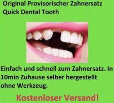 Provisorischer Zahnersatz Zahnprothese     auch für gebrochene Zähne Gebiss