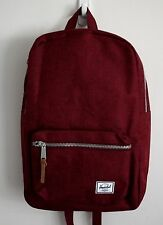 HERSCHEL SUPPLY CO SETTLEMENT MID BACKPACK WINE MSRP $60- BRAND NEW w/TAG!