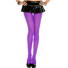 Plus Size Halloween Opaque Pantyhose Tights 11 Colors!! One Size XL 1X 2X ML747Q