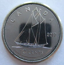 2017 CANADA 10 CENTS PROOF-LIKE DIME COIN
