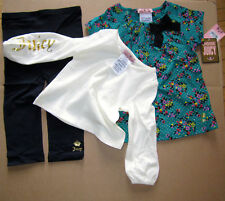 Juicy Couture Baby Legging Set Sparkle Garden 12-18 months NEW $128