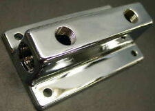 FUEL BLOCK CHROME DOUBLE DUAL TORANA CHEV FORD HOLDEN MONARO KINGSWOOD FALCON
