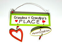 Grandma & Grandpa's Place Plaque
