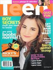 TEEN Winter 2006 Issue EMMA WATSON / HERMIONE GRANGER Collector Magazine