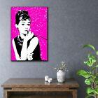 Audrey Hepburn Pop Art Canvas Print Wall Art