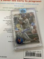 Amed Rosario 2018 Topps Archive Auto Bowman RC /62