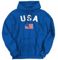 USA World Cup Soccer Flag National Flag Pride Hoodie Sweatshirt