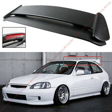 FOR 96-00 HONDA CIVIC 3DR HATCHBACK TYPE-R STYLE ROOF SPOILER WING W/ LED LIGHT