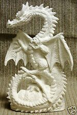 Ceramic Bisque Dragon Wings Spread Nowell Mold 2862 U-Paint Ready To Paint