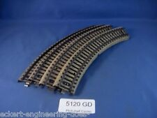 Ee 5120 Gd Marklin Ho M Track Industrial Curve Pack of 4 Good Condition