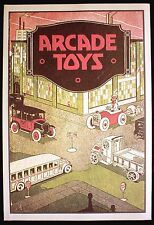 1923 ARCADE CAST IRON TOY CATALOG #33 - TOP QUALITY LITHOGRAPH