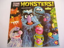 SESAME STREET - MONSTERS - SCARCE LP
