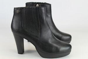 Tom Tailor Gr.38 Damen Stiefel Stiefeletten Boots  TOP   Nr. 174 E