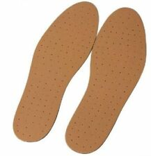 2 Pair Unisex Synthetic Leather  Comfortable Cut To Size Lightweight Insoles 795