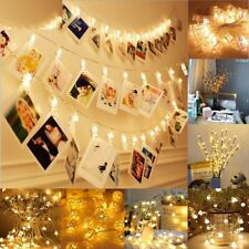 Photo Clip Led Lights Wedding Decoration Christmas Party Events Home Decorations