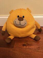 "Mushable Pot Bellies Bear Yellow Orange White 9"" (119)"