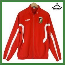More details for glentoran football training jacket umbro m medium anthem track top the glens