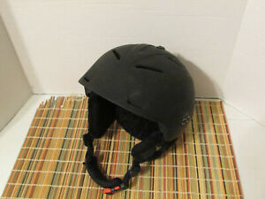 Bolle Snowboard or Ski Helmet In Matte Black -  Size Small 53-55 CM