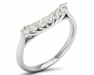 0.30 Carat Round Brilliant Cut Engagement Diamond Ring Available in 18K Gold