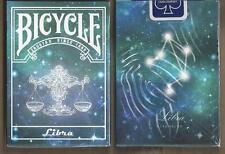 1 DECK Bicycle Constellation LIBRA zodiac playing cards FREE USA SHIPPING
